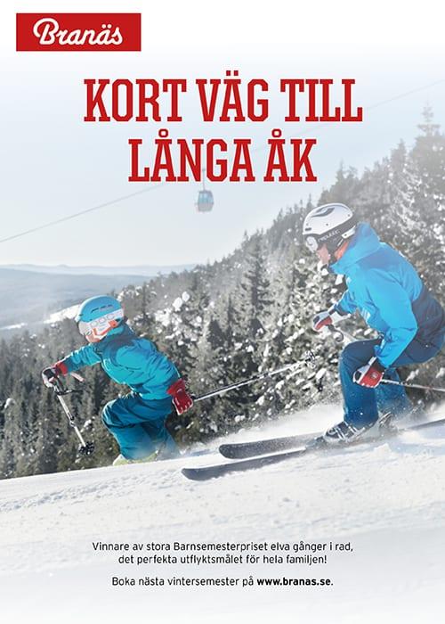 Branäs, Blogg